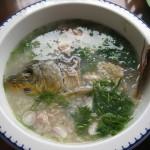 Cách nấu cháo cá chép thơm ngon bổ dưỡng cho bà bầu
