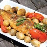 Cá kho nấm hương vị cực ngon